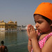 Sukhmani - our daughter Praying at Golden Temple, India