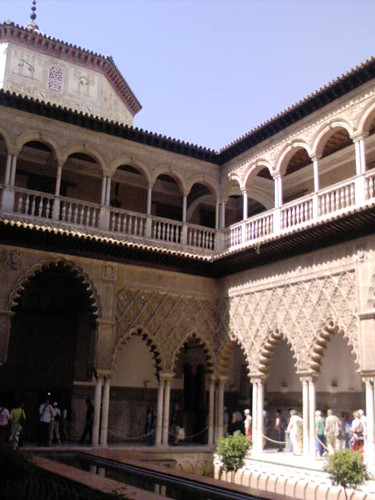 Patio de las Doncellas, Real Alcazar