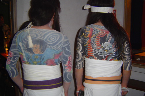 Japanese gangster tattoos / ??