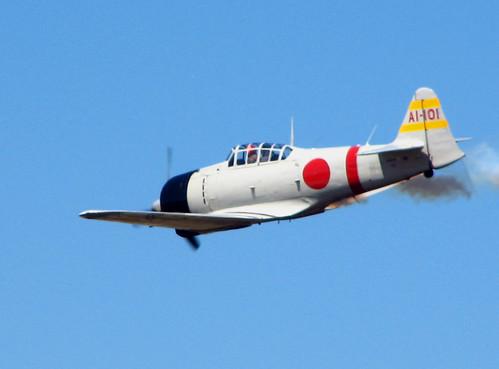 "Warbird picture - Mitsubishi A6M Reisen ""Zero"""