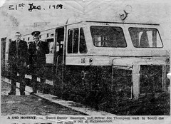 The last Railbus out of Ballyshannon