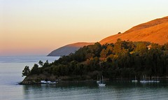 Daybreak at Diamond Harbour, Canterbury, New Zealand
