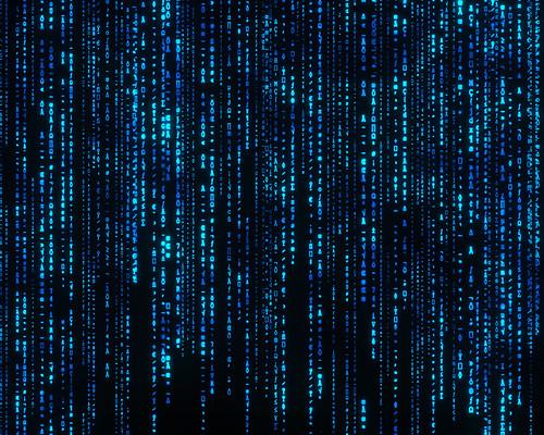 the matrix wallpaper. The MATRIX Wallpaper HQ (blue)