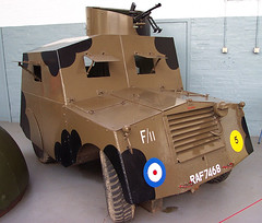 Standard Beaverette armoured car (Whipper_snapper) Tags: army war force tank air 1940 royal duxford weapons raf tanks imperialwarmuseum royalairforce 123history