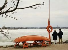 Waiting for Thaw (hannanik) Tags: winter sea ice tag3 taggedout finland boat frozen spring helsinki tag2 tag1 katajanokka tccomp069 tccomp149 junglearctic