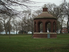 Bandstand (alohadave) Tags: brick grass iso100 fuji gazebo finepix fujifilm bandstand southboston bostonist f32 s3100 universalhub guesswhereboston 0005sec foundinboston 06ev 129mm