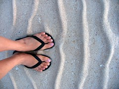 sand ripples (adlaw) Tags: travel black feet beach colors sand philippines havaianas cebu bantayan tradition slippers standingthere tsinelas cebusugbo bluelist