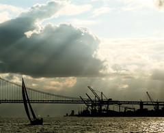 Sailing (pedrosimoes7) Tags: bridge sunset sea portugal river sailing wind lisboa lisbon ships sail tagus vessels 1on1 mireasrealm 2on2 1on1halloffame judgementday55 superbmasterpiece 1on1maritimephotooftheday 1on1maritimephotoofthedaymay2007