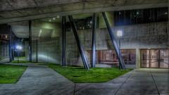 slantedcolumns (patrix) Tags: longexposure night campus berkeley eastbay hdr 4exp