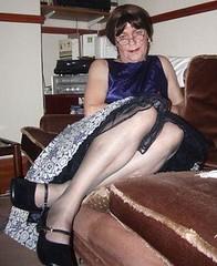 relaxing (Karen Julia) Tags: stockings pretty tx tgirl transgender tranny upskirt slip undies petticoat tg ukangels petticoats angelflickr