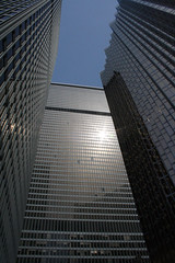 reflective sun (scienceduck) Tags: sun toronto ontario canada reflection building public architecture office downtown 2006 april skyscrapper tdtower scienceduck royaltower