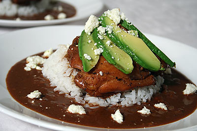 Mex-amand-ican Chicken Mole