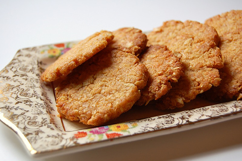 anzac biscuits© by Haalo