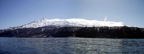 Shiretoko Range (知床連山) panorama #2934