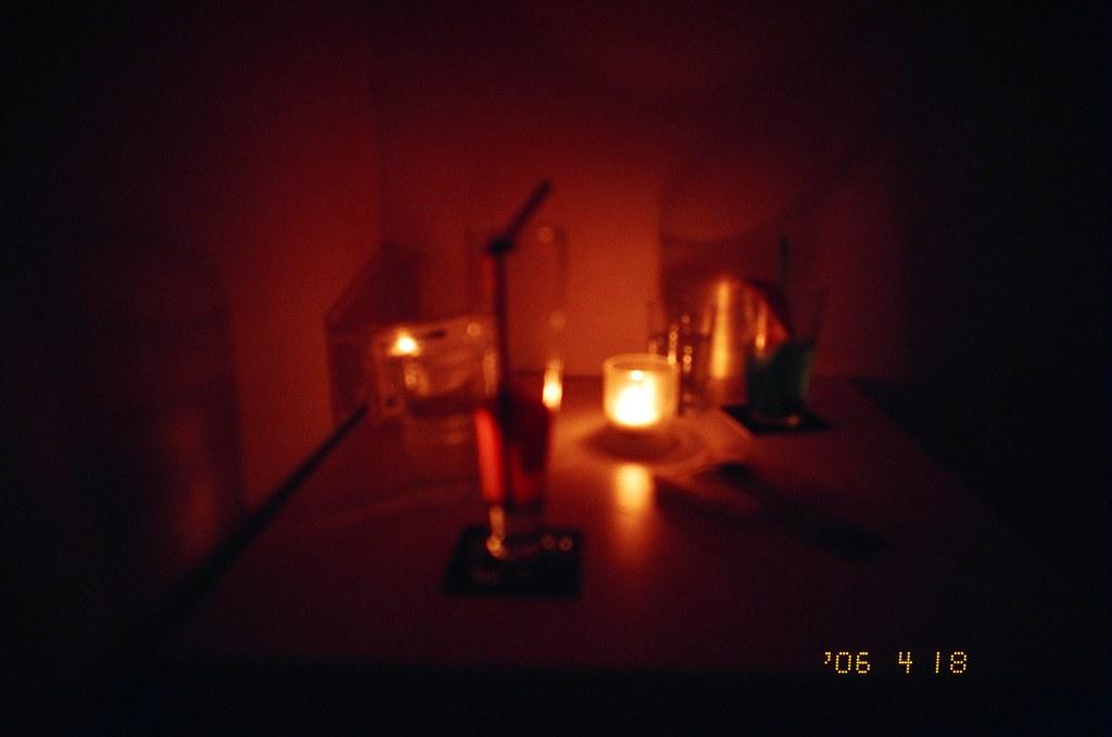 夜店的燭光