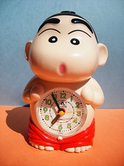 Crayon Shin-Chan Alarm Clock With Glowing Genitals