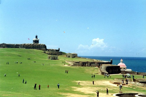 Puerto Rico - El Viejo San Juan: El Castillo San Felipe del Morro