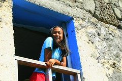Ivatan (Farl) Tags: travel house color heritage home window colors girl beauty coral stone islands philippines north culture portal lime tradition maiden portals batanes ivatan bluelist