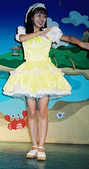 Marie Suzuki at Asakusa #3 (shiroibasketshoes hopper) Tags: cute beautiful japan dance pretty dress sing idol singer amusementpark asakusa jpop hanayashiki cawaii