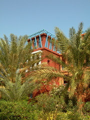 Sheraton Miramar Resort El Gouna, Hurghada - Egypt (mnadi) Tags: flowers sunset red summer sky orange holiday flower colour garden hotel warm colours outdoor redsea curves egypt sunny el resort arabic clear gouna egyptian styles sheraton ethnic spa miramar hurghada michaelgraves bedouin  nubian elgouna bougainvilleas