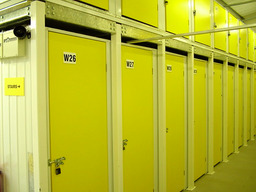 Self Storage Rooms As An Office