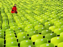 :P (SophieMuc) Tags: green munich seats olympiastadion topf500 topf700 topf600 topf800 topf900 abigfave theflickrcollection