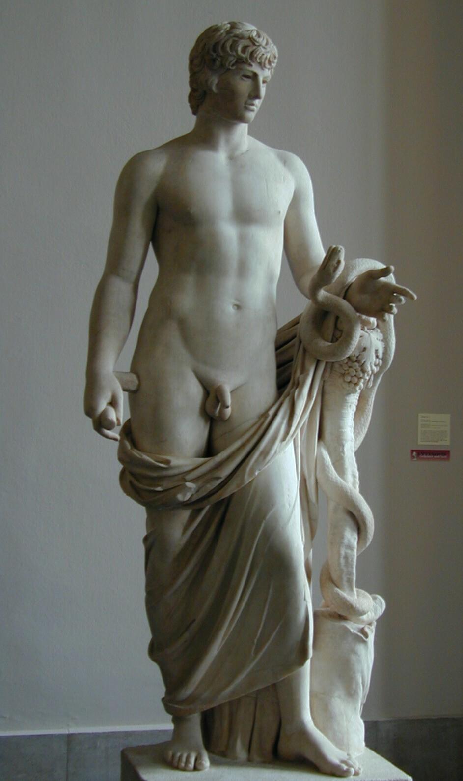 Nude Male Statue 49