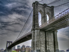 Megalith (Darny) Tags: nyc newyorkcity bridge newyork brooklyn bravo manhattan quality brooklynbridge topf100 hdr photomatix webcity nycbridges 76points mireasrealm darny