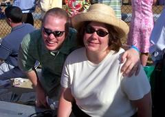 KY Oaks 2006 - Paul and Jenn at the Oaks (paulsisler) Tags: paul jennifer churchilldowns louisvilleky oaksday kyoaks