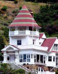 Holly Hill House/Lookout Cottage (The SHED Gallery) Tags: ocean california santa trees vacation sky panorama house fish chicago green beach colors tile boats island harbor pier boat flying catalina fishing colorful paradise photographer tour native horizon fineart hill cottage scenic lookout casino holly palm american boating series indians cubs mansion wrigley mermaid garibaldi tranquil patrol avalon glassbottom tilework mrlowe casualclicks jefflowe jeffreyalowe jeffreylowe fineartphotograph httpjeffloweartistwebsitescom theshedgallery jeffloweartistwebsitescom theshedgallerylagmailcom