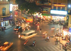 hanoi night traffic - vietnam (chillntravel) Tags: travel night asia southeastasia published nocturnal traffic vietnam hanoi top555 1000places