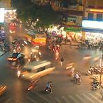 hanoi night traffic - vietnam