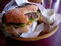 Red Onion Burger