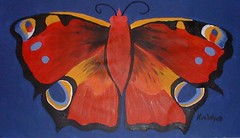 Red Butterfly by Kim Wyatt