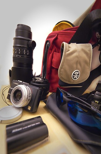 sport photography kit (unpacked)