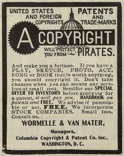 A copyright will protect you from PIRATES (by Ioan Sameli)