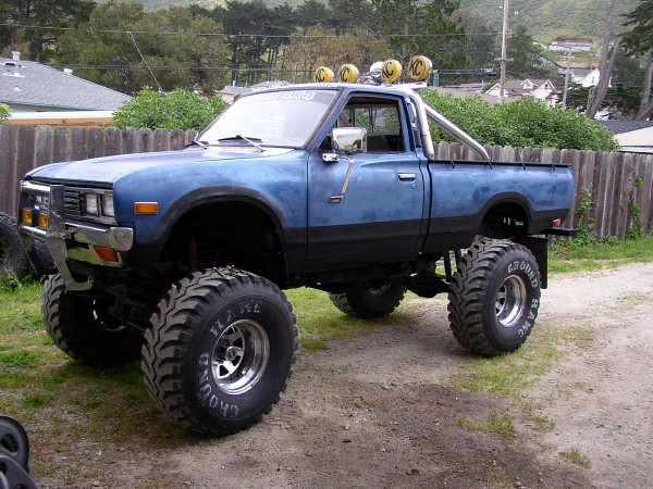 monster truck 4x4 datsun lifted