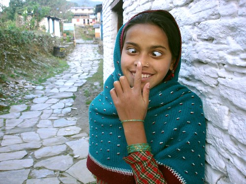 Young Nepalese Girl