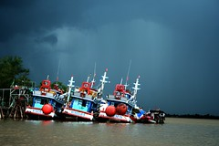 stormy (Farl) Tags: travel water colors river asia delta vietnam waters mekongdelta mekong mekongriver