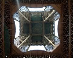 Eiffel Tower Underside