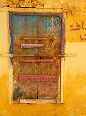 a perfect window (christing-O-) Tags: old window topf25 yellow rusty morocco soe meknes