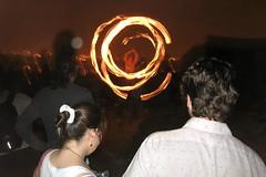 Brooklyn - Willamburg: July 4 - Fire Dancer (wallyg) Tags: roof ny newyork brooklyn fire dancer northside williamsburg gothamist july4 independenceday kingscounty