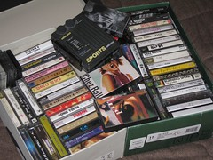 Shoeboxes of Tapes, on Flickr