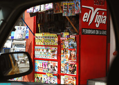 NewsStand (mcshots) Tags: travel camping mexico fun coast newspapers bajacalifornia ensenada vendor baja magazines mcshots newstand surftrip