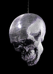 death by disco (Shauna Haider) Tags: ball death skull dico