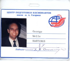 Official Astronaut ID Card - Pics about space