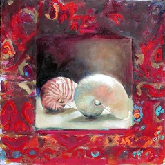 Shells (HagitSha) Tags: red shells colors paintings
