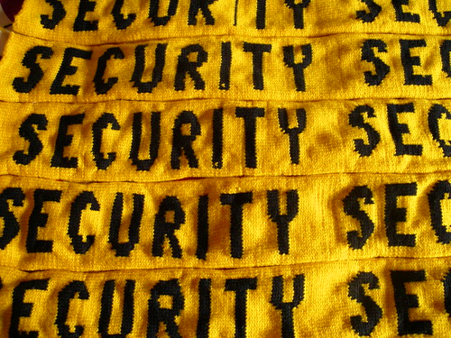 Photo of security blanket