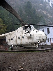 Old helicopter (mke1963) Tags: china forest gansu lutusi tulugou liancheng