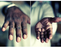 one of two X's (puja) Tags: topf25 350d 50mm hands topf50 topf75 diptych dad indian papa canondigitalrebel canon50f18 topf150 topf100 topf200 50mm18 canon50mm18 tenpositive utatahands